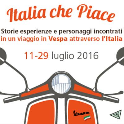 Italia che Piace Tour In Vespa