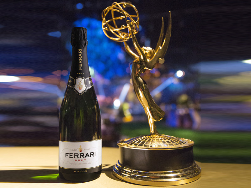 Ferrari brindisi ufficiale di Emmy Awards