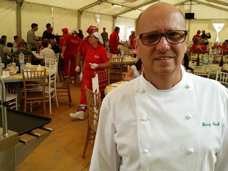 Heinz Beck, Cucina Terremotati