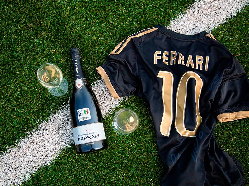 Cantine Ferrari, brindisi ufficiale della Juventus