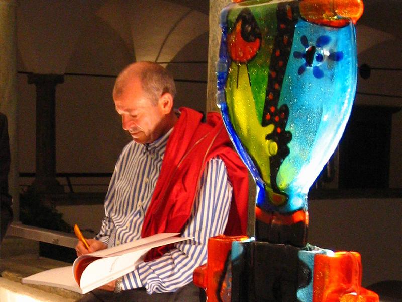 Le opere di Silvio Vigliaturo al Museo del Cristallo di Colle di Val D'Elsa con la mostra
