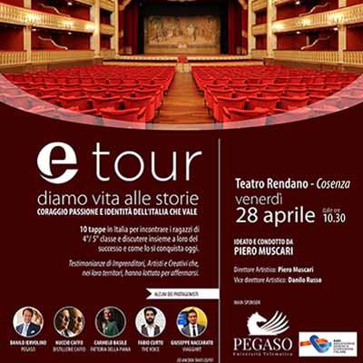 Etour, il tour di Eccellenze Italiane. I tappa a Cosenza