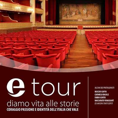 Etour, il tour di Eccellenze Italiane. I tappa a Cosenza il 28 aprile