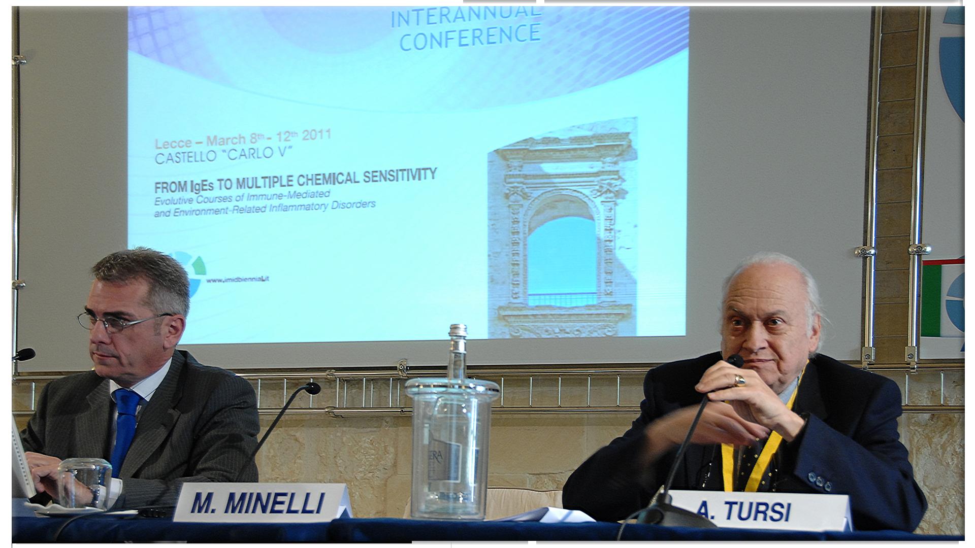 Mauro Minelli e A.Tursi