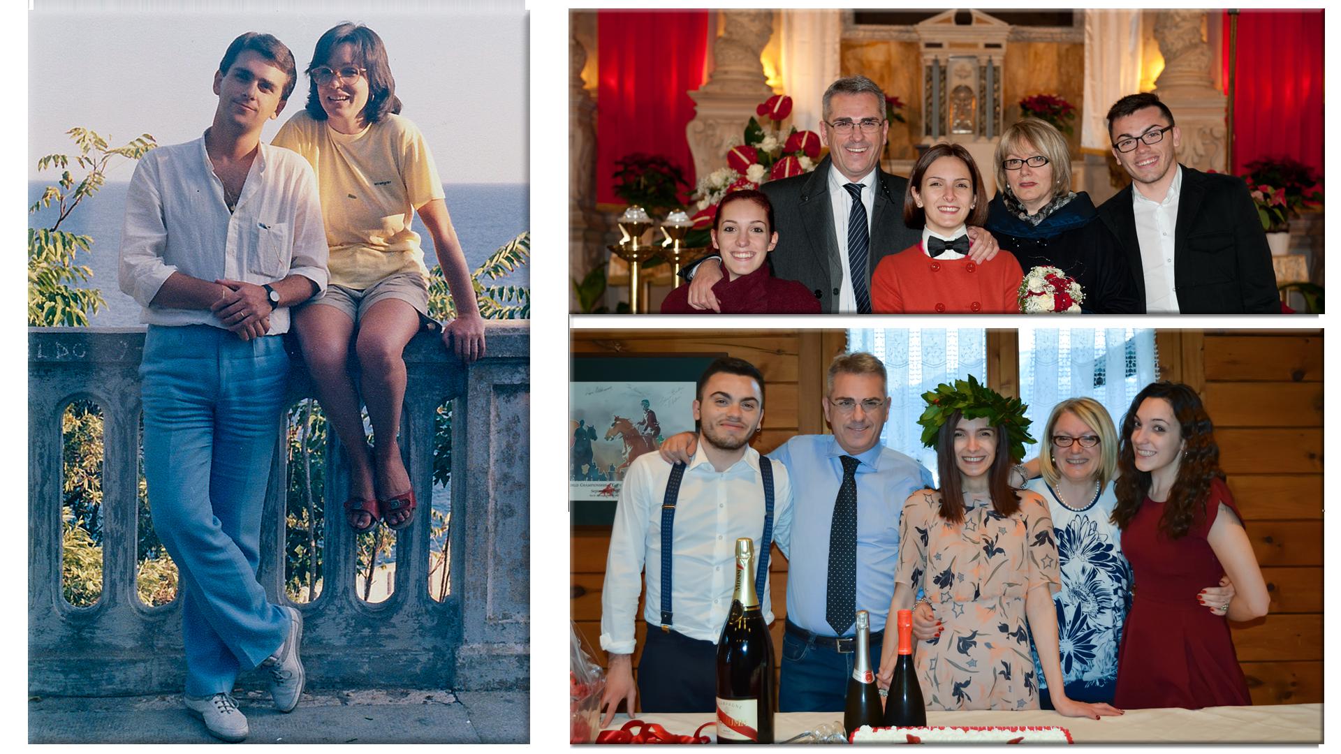 Mauro Minelli e Famiglia
