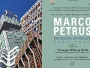 Al Marca di Catanzaro, diretto da Rocco Guglielmo, l'antologia di Marco Petrus dal 12 maggio al 20 agosto 2018.