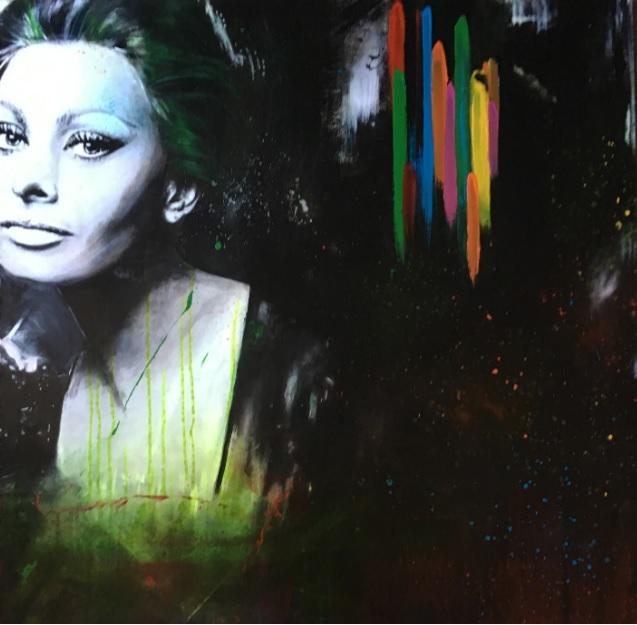 Ritratto Sophia Loren