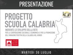 Progetto Scuola Calabria la presentazione martedì 30 Luglio | News