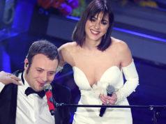 Simona Molinari a Sanremo 2020 con Raphael Gualazzi