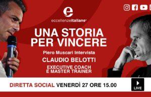 Claudio Belotti: una storia per vincere! Una storia per crescere! Live venerdì 27 Marzo su facebook.