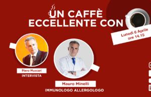 Mauro Minelli: un caffè eccellente. Live lunedì 6 Aprile su facebook.