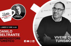 """Danilo Beltrante è l'ospite di Piero Muscari nella diretta """"un caffè eccellente"""" di lunedì 27 aprile delle 14.30."""