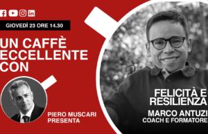 Marco Antuzi: un caffè eccellente. Replay del live del 23 Aprile