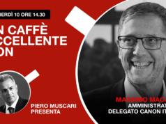 Massimo Macarti: un caffè eccellente. Live venerdì 10 ore 14-30