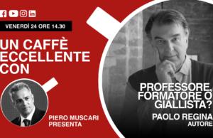 Paolo Regina: un caffè eccellente. Live del 24 aprile