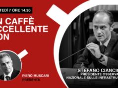 aroma, caffè eccellente, comunicazione, coronavirus, infrastrutture, Mediterraneo, Nato, rete digitale, Stefano Cianciotta, storie, un caffè eccellente