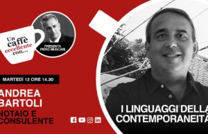 I linguaggi della contemporaneità. Un caffè eccellente con Andrea Bartoli