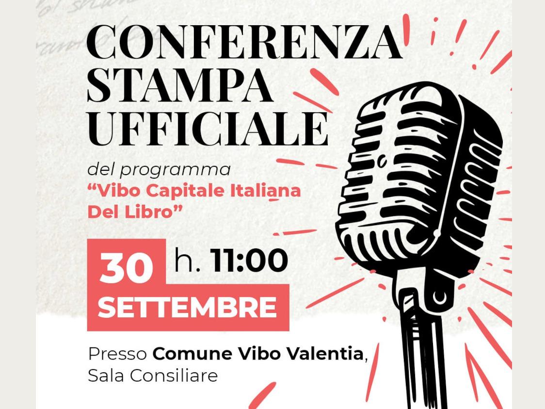 Conferenza stampa vibo capitale italiana del libro